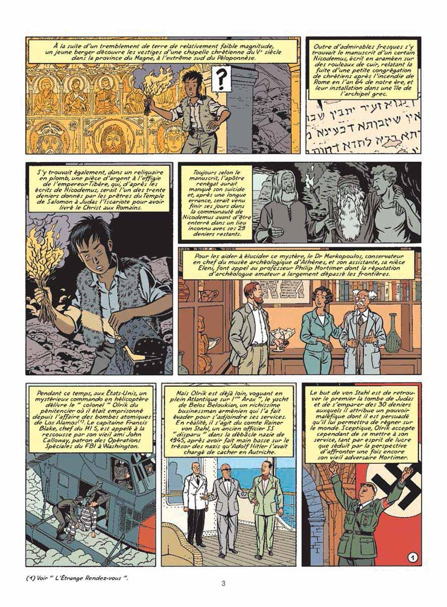 Blake et Mortimer, tome 20 / La Malédiction Des Trente Deniers 2